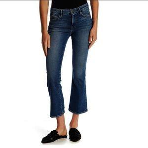 Frame Denim Le Crop Mini Boots Jeans